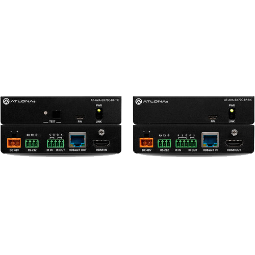 AT AVA EX70C BP KIT - Avance 4K UHD HDMI Extender Kit with Control and Bidirectional Remote Power